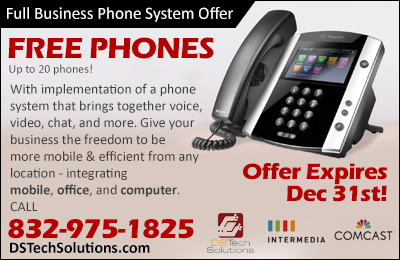 Free business phones until the end of 2018
